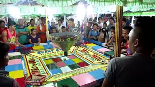 Jaro Plaza, Iloilo City Philippines ~ Public gambling, fiesta, and holiday lighting