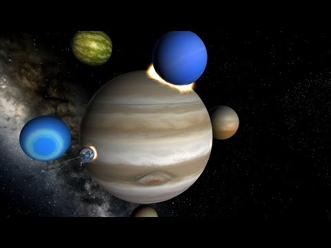 Entire Solar System Crashes into Jupiter - Universe Sandbox |