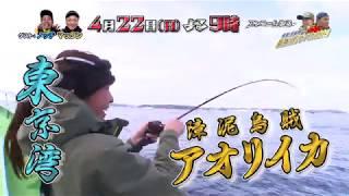 東京湾・竹岡沖でガチ釣り対決!高級イカの代表アオリイカを狙う!4〜...