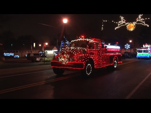 2016 Barrington,NJ Fire Department Holiday Parade  11/25/16