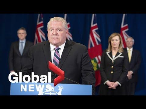 Coronavirus outbreak: Ontario provides plan for gradual reopening, but no dates provided | FULL