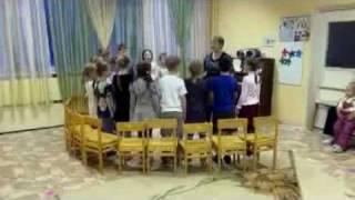 Ангарск, 8 гимназия, 1Г: открытый урок - хор
