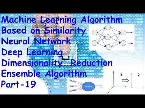 List of Machine Learning Algorithm(Neural network, PCA, Ensemble Algorithm) Part 19