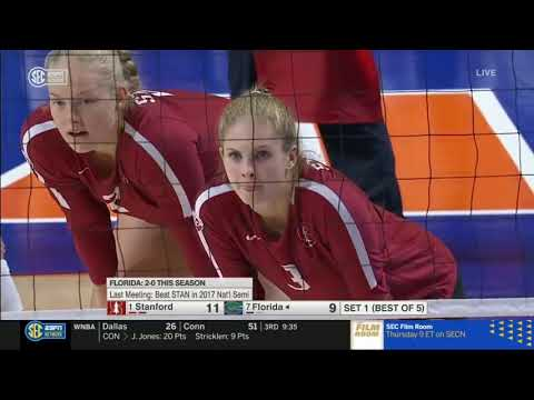 Best Volleyball Match : Stanford vs Florida | NCAA Women Volleyball Championship 2019
