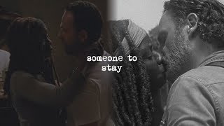 Rick & Michonne | Someone to Stay [+8x14]