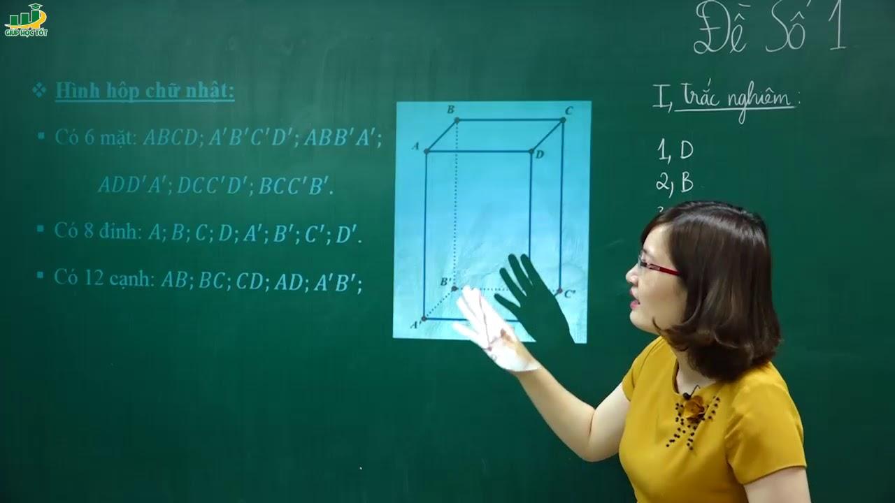 Toán lớp 8 – Đề thi môn toán lớp 8 HỌC KÌ 2 có đáp án–Đề số 1|Ôn tập kiển tra |Cô TạThị Huyền Trang