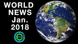 World News January 2018  Geography Now