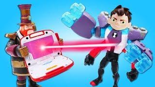 Видео про игрушки Бен Тен. Трейлер атакует НедоАлмаза!