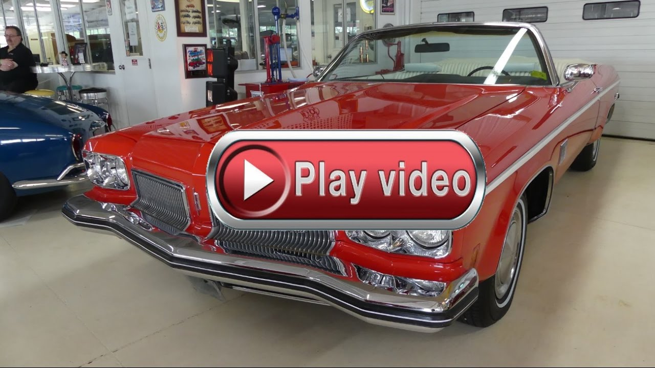 1973 oldsmobile delta 88 royale convertible youtube for Goldie s motors inventory