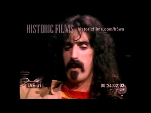 1967 Frank Zappa on Newfound Success, Shock Value and Hippies