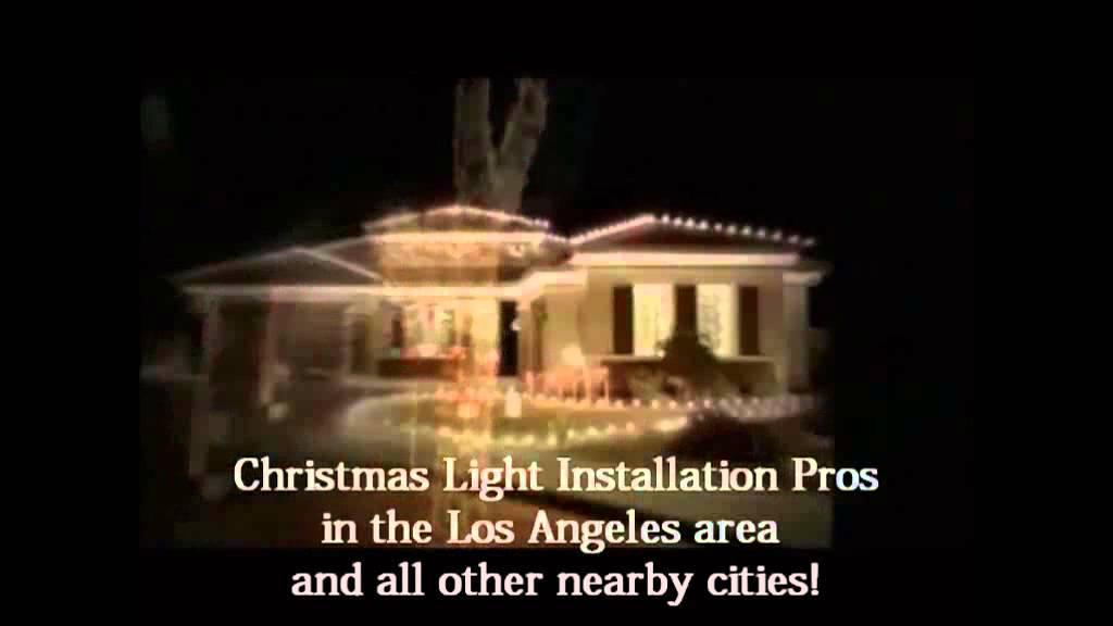 Christmas Light Installation Sierra Madre CA 310 598 7447