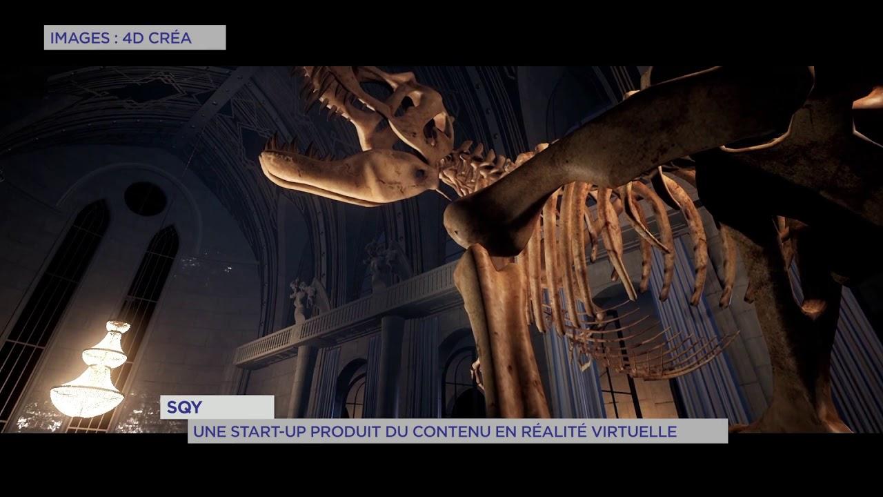 Yvelines | SQY : Une start-up produit du contenu en réalité virtuelle