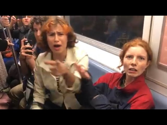Emotions erupt over LGBTQ+ ideas on NYC subway