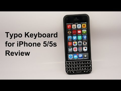 Typo Keyboard Review: turn your iPhone into a BlackBerry