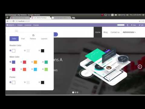 Odoo Multi Website By 73Lines