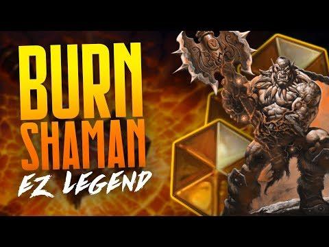 EZ Legend with Burn Shaman on EU | Hearthstone