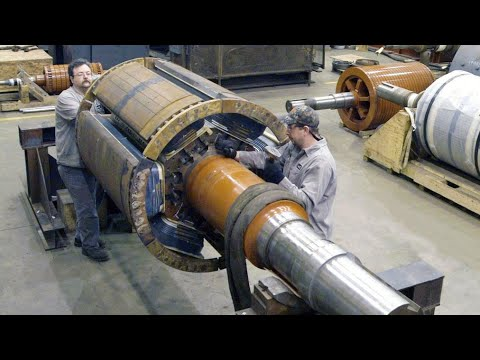 Most Skilled Electrical Engineers and Best Teamwork To Produce The Largest Electric Motor