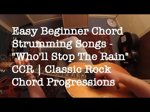 Easy Chord Strumming And Switching Song For Beginners | Easy CCR ...