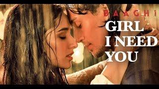 Girl I Need You (Full Audio with Lyrics) | BAAGHI | Tiger & Shraddha | Arijit Singh, Meet Bros,