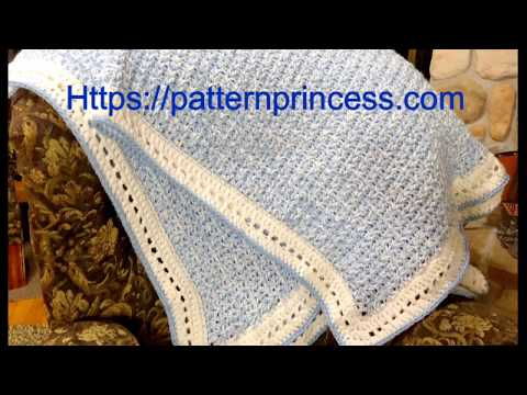 Modern Double Crochet V-Stitch Chunky Blanket Part 2 of 2