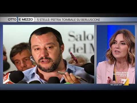 Otto e mezzo - 5 Stelle: pietra tombale su Berlusconi (Puntata 20/04/2018)