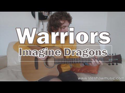 Warriors - Imagine Dragons (Guitar Lesson/Tutorial)(League of Legends World Championship)