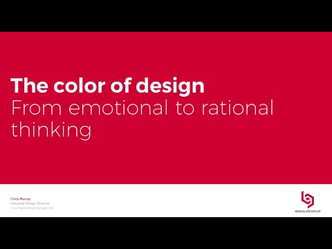 A Rational Guide to Color Selection in Product Design
