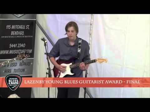 Ethan Farmer @ 2015 Bendigo Blues and Roots Festival