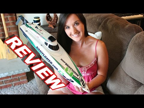 HobbyKing ScottFree Race Boat Review - RC Boat - TheRcSaylors