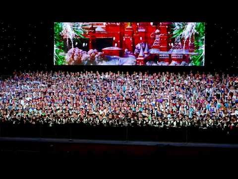 Концерт детского хора России в Кремле 25.12.15