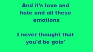 Everything Is You By Eli Young Band (with lyrics)