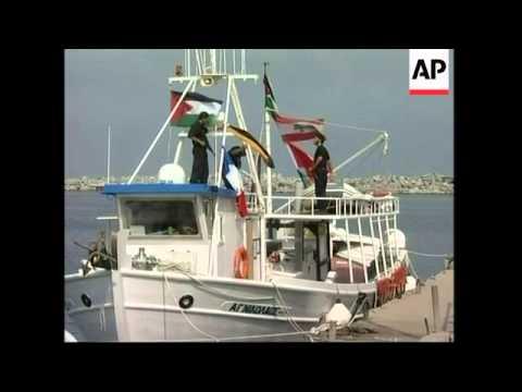 Boats carrying activists sail into Gaza in defiance of Israeli blockade