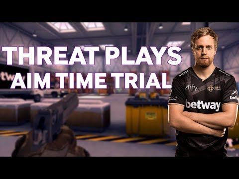NiP Threat Plays Aim Time Trial