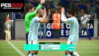 PES 2019 - KONAMI COPIA SUSTITUCIONES RÁPIDAS A FIFA EN PLENO PARTIDO