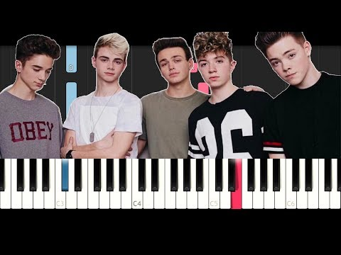 Why Don't We - Something Different (EASY Piano Tutorial )