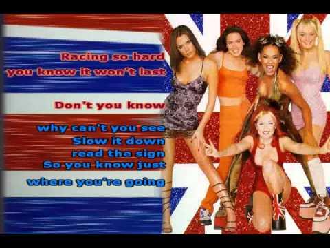 Stop ~ Spice Girls ~ Karaoke