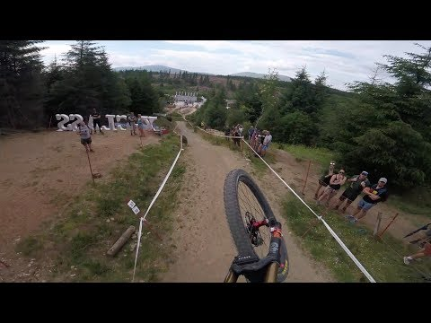 Luca Shaw - Fort William Helmet Cam