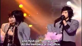 ユチョン HUG 2004年SBS人気歌謡 ミュティズン・ソング(1位)