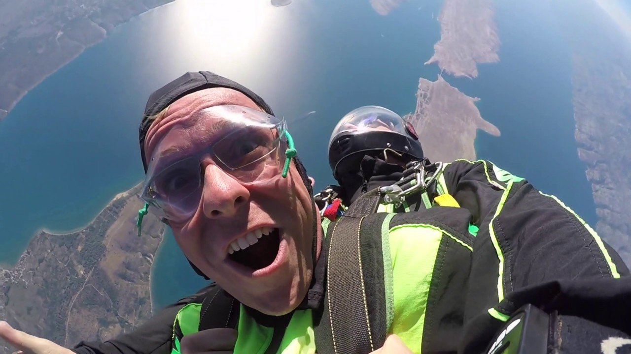 Skydiving Croatia - Adrenaline Rush Moments | ADV