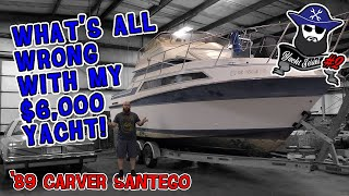 What's all wrong with my $6000 yacht! The CAR WIZARD breaks it all down.
