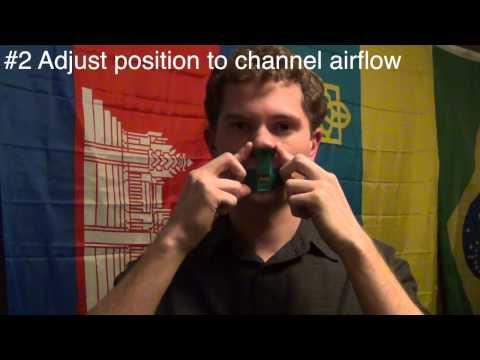 How to Play a Nose Flute v 2.0