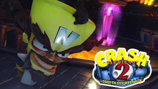 ¡Cortex ATACA de NUEVO! | Crash Bandicoot N Sane Trilogy | Ep. 8 con --ALEX--