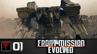 Front Mission Evolved #1 - Падение Персиваля