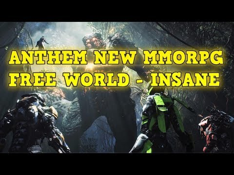 Best Mmorpg For Solo Play 2020 BEST MMORPG OF 2019   FREE WORLD   ANTHEM   YouTube