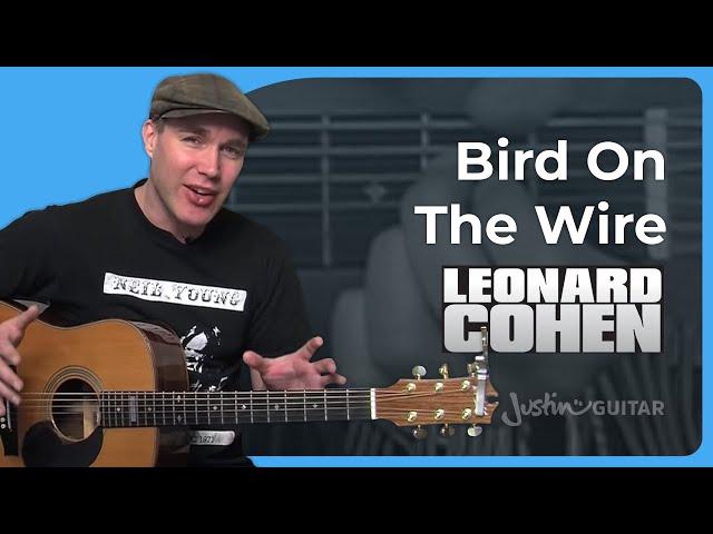 Hallelujah Leonard Cohen Justinguitar