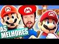 O POVO TÁ FICANDO CRIATIVO! - Super Mario Maker