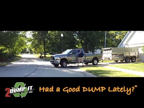 2 DUMP IT™ Dumpster Rentals and Junk Removal Services- St. Louis MO