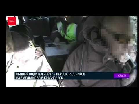 Пьяный водитель автобуса перевозил детей