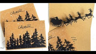 Simple Christmas Pop Up Card | Sizzix Lifestyle