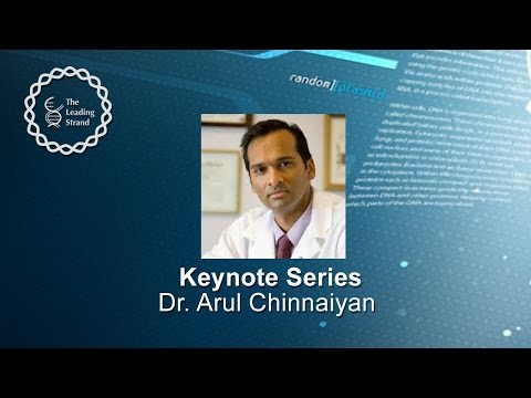 CSHL Keynote; Dr. Arul Chinnaiyan, HHMI/University of Michigan Medical School